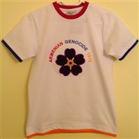 Adult Tshirt ForgetMeNot White