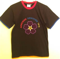Adult Tshirt ForgetMeNot Black
