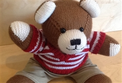 Dressed Large Bear Brown 9
