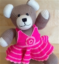 Dressed Small Bear Beige 4