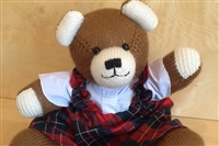 Dressed Small Bear Brown 2