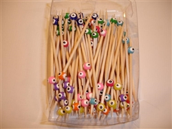 Evil Eye Toothpicks Multicolor