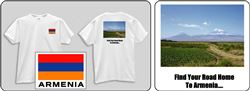 Adult Tshirt 21 - Find your own Road to Armenia