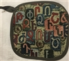 Armenian Alphabet Pot Holder 2 - Taraz