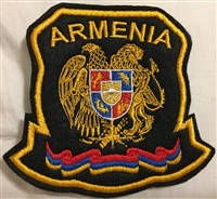 Armenian Black Patch (Shield)