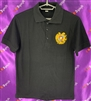 Adult Polo Tshirt Black