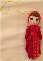 Armenian Female Dancer Christmas Ornament 2