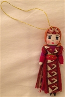 Armenian Female Dancer Christmas Ornament 3