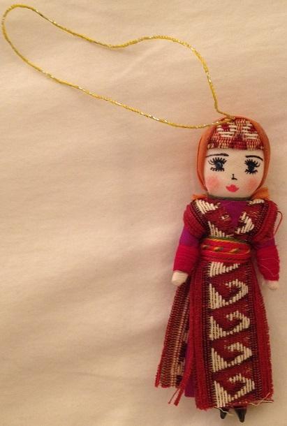- Armenian Female Dancer Christmas Ornament 3