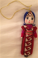 Armenian Female Dancer Christmas Ornament 4