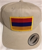 Armenia Flag Golf Cap - Beige