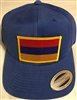 Armenia Flag Golf Cap - Light Blue