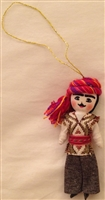Armenian Male Dancer Christmas Ornament 1