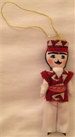 Armenian Male Dancer Christmas Ornament 2
