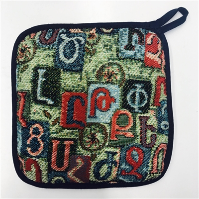 Alphabet Pot Holder - Taraz