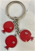 Armenian Pomegranate Keychain 2