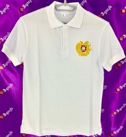 Adult Polo Tshirt White