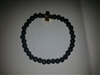 Hematite Beaded Prayer Rope Bracelet