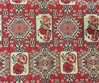 Hand Made 8 foot Table Runner - Taraz 3