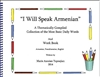 I Will Speak Armenian