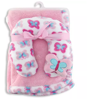 Baby Girl Blanket Set