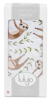 Classic Muslin Swaddle - Sloth