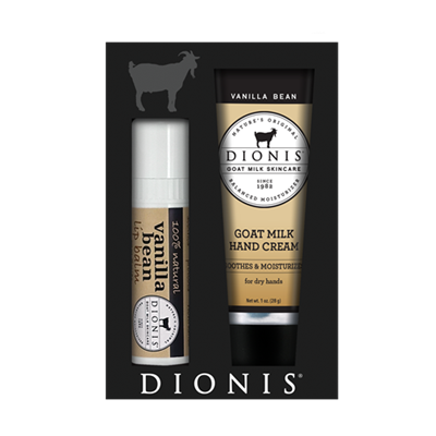 Dionis Vanilla Bean Lotion & Chapstick Gift Pack