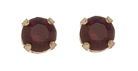 Earrings Ear Sense January - Garnet