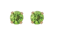 Earrings Ear Sense August - Peridot
