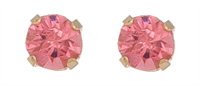 Earrings Ear Sense October - Rose Zircon