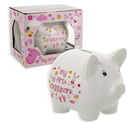 My 1st Piggy Bank - Girl