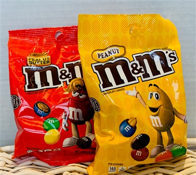M and M's (choose one)
