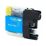 Brother LC103C New Compatible Cyan Ink Cartridge High Yield