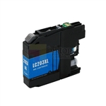 Brother LC203C XL New Compatible Cyan Ink Cartridge High Yield
