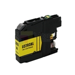 Brother LC203Y XL New Compatible Yellow Ink Cartridge High Yield