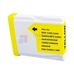 Brother LC51Y LC-51Y New Compatible Yellow Ink Cartridge