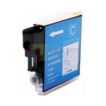 Brother LC61C New Compatible Cyan Ink Cartridge
