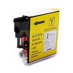 Brother LC61Y LC-61Y New Compatible Yellow Ink Cartridge