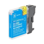 Brother LC65C LC-65C New Compatible Cyan Ink Cartridge