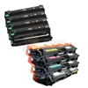Brother TN-221/TN-225 New Compatible 4 Color Toner Cartridges/Brother DR221CL Compatible 4 Color Drum Units 8 Pack Combo