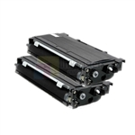 Brother TN-350 New Compatible Black Toner Cartridges 2 Pack Combo