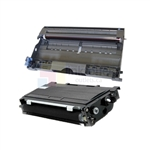 Brother TN-350 New Compatible Black Toner Cartridge/ Brother DR-350 Compatible Drum Unit 2 Pack Combo