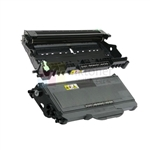 Brother TN-360 New Compatible Black Toner Cartridge/ Brother DR-360 Compatible Drum Unit 2 Pack Combo