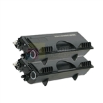 Brother TN-460 New Compatible Black Toner Cartridges 2 Pack Combo
