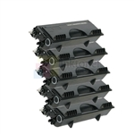 Brother TN-460 Black Toner Cartridges High Yield 5 Pack Combo