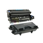 Brother TN-460 Black Toner Cartridge/ Brother DR-400 Compatible Drum Unit 2 Pack Combo