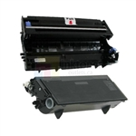 Brother TN-570 New Compatible Black Toner Cartridge/ Brother DR-510 Compatible Drum Unit 2 Pack Combo