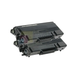 Brother TN-650 New Compatible Black Toner Cartridges 2 Pack Combo