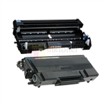 Brother TN-650 New Compatible Black Toner Cartridge/ Brother DR-620 Compatible Drum Unit 2 Pack Combo