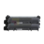 Brother TN-660 Black Toner Cartridges High Yield 2 Pack Combo